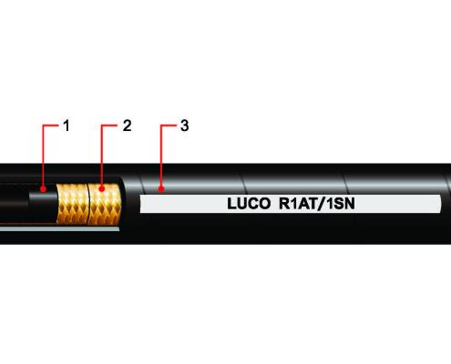 Hydraulic Hose 100R1AT 1SN