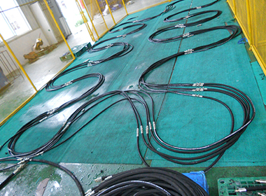 Hydraulic Hose Assembly for Testing