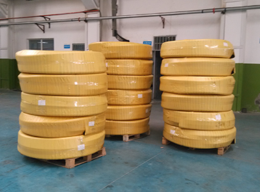 Industrial Hose Packing and Shippment