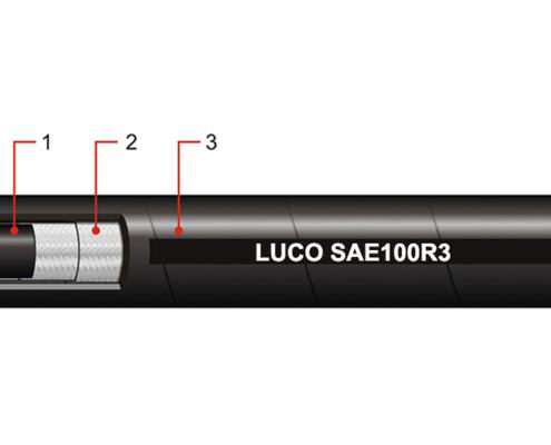 LUCOHOSE SAE100R3