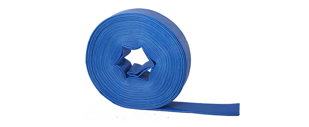 LUCOHOSE Two Step Extrusion PVC layflat discharge hose