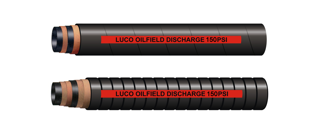 LUCOHOSE Oil Discharge Hose 150PSI
