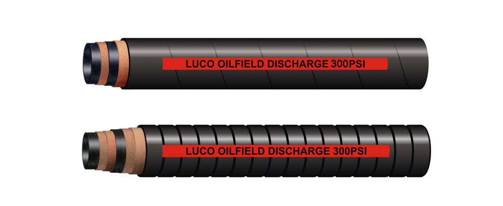 Oil Discharge Hose 300PSI