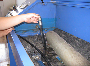Hydraulic Hose Bursting Test Result