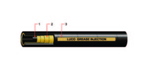 LUCOHOSE GREASE INJECTION HOSE