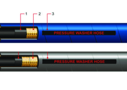 LUCOHOSE Pressure Washer Hose and Assembly