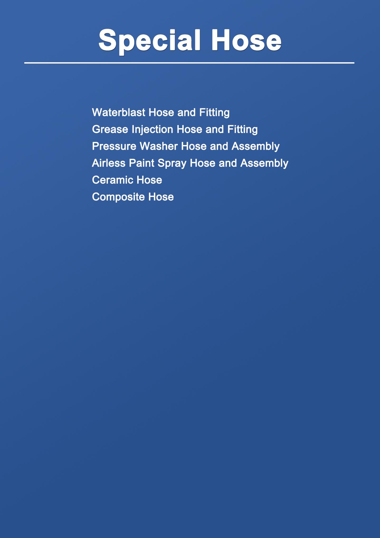 Special Hose Datasheet