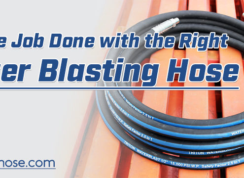 Heavy Duty Water Blasting Hose Supplier in China LUCOHOSE